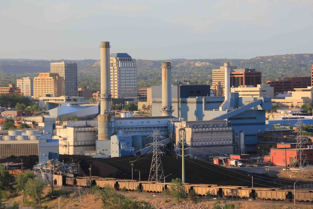 What comes after Colorado Springs closes its coal plants?