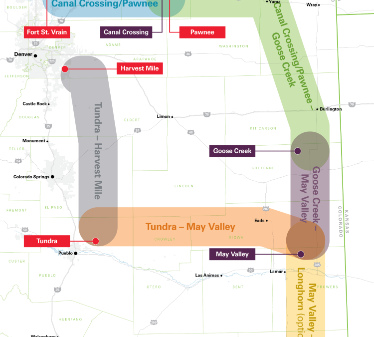 Xcel's plan for $1.7 billion in transmission in eastern Colorado