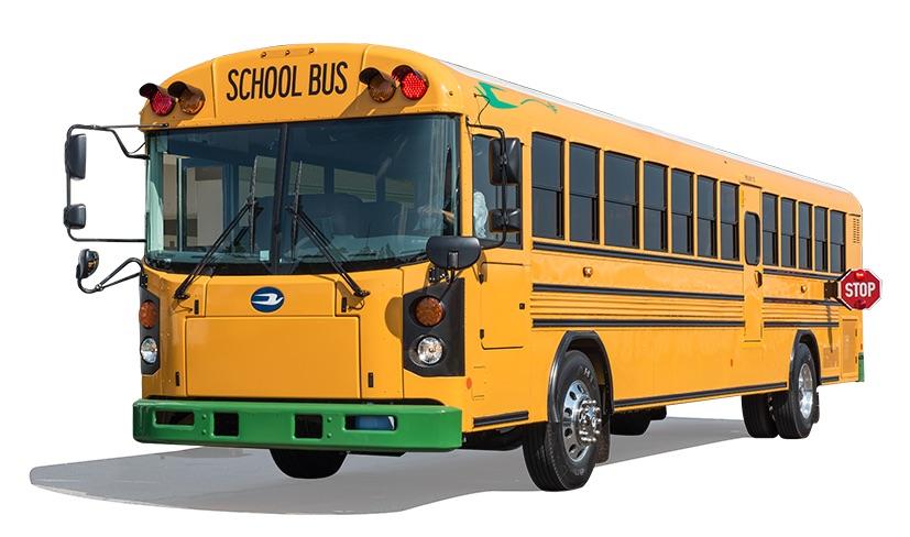 Durango school bus has homework too