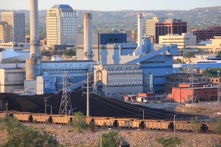 Drake coal plant