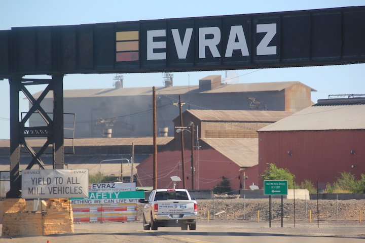 Solar farm for Evraz steel mill to be ready by the end of the year