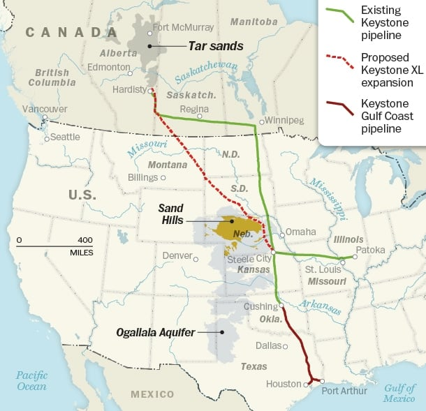 Keystone XL and the end of the golden age of oil