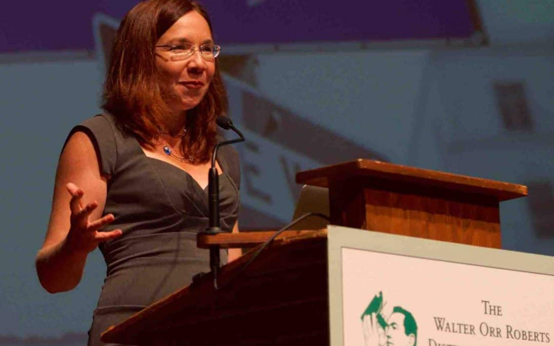 Katharine Hayhoe on how to change 'us' and 'them' in climate into 'saving us'